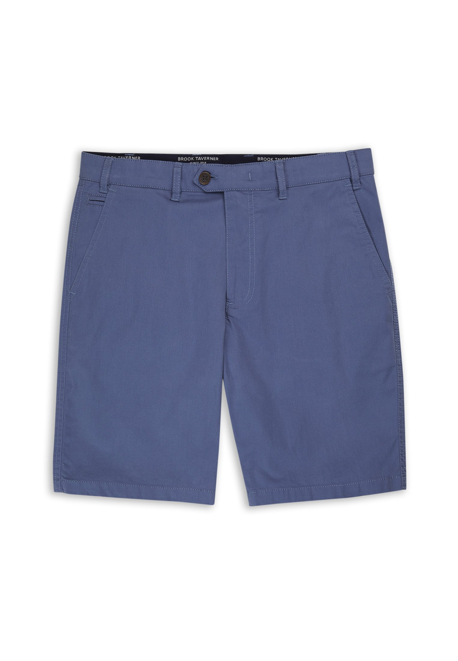 Brook Taverner Sea Blue Ashdown Chino Shorts