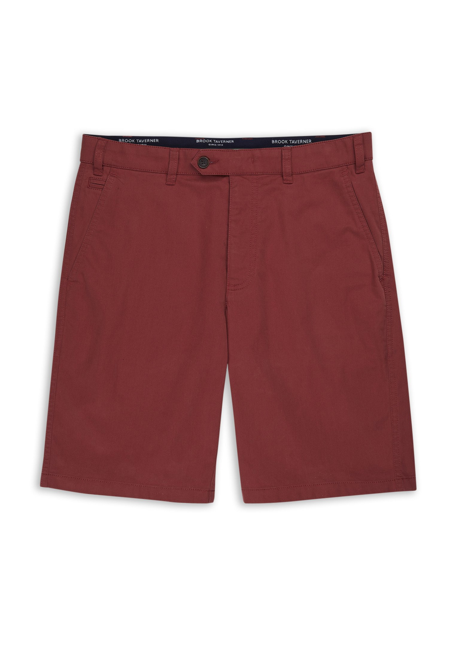 Brook Taverner Ashdown Chino Shorts in tomato