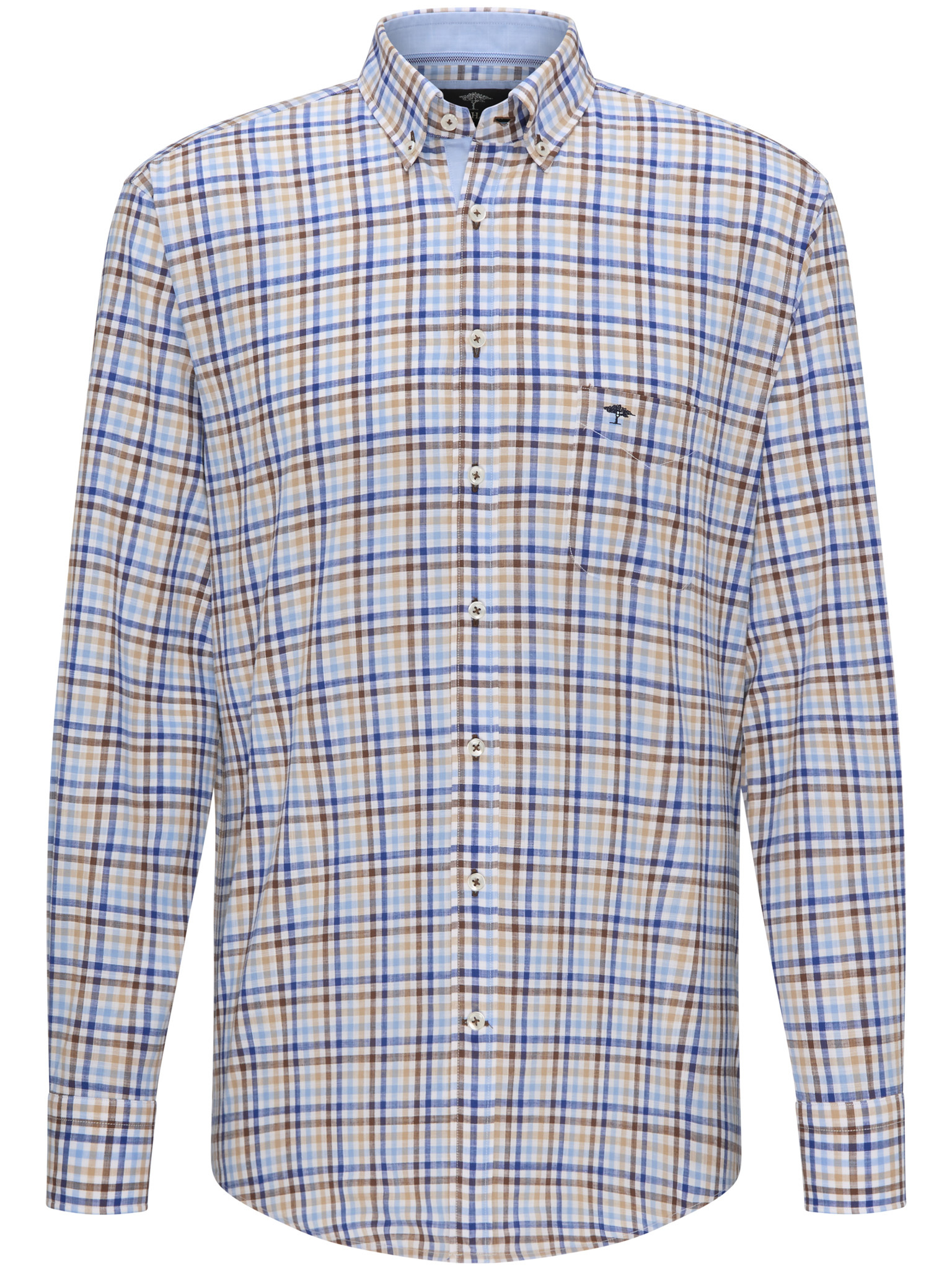 Fynch Hatton checked shirt