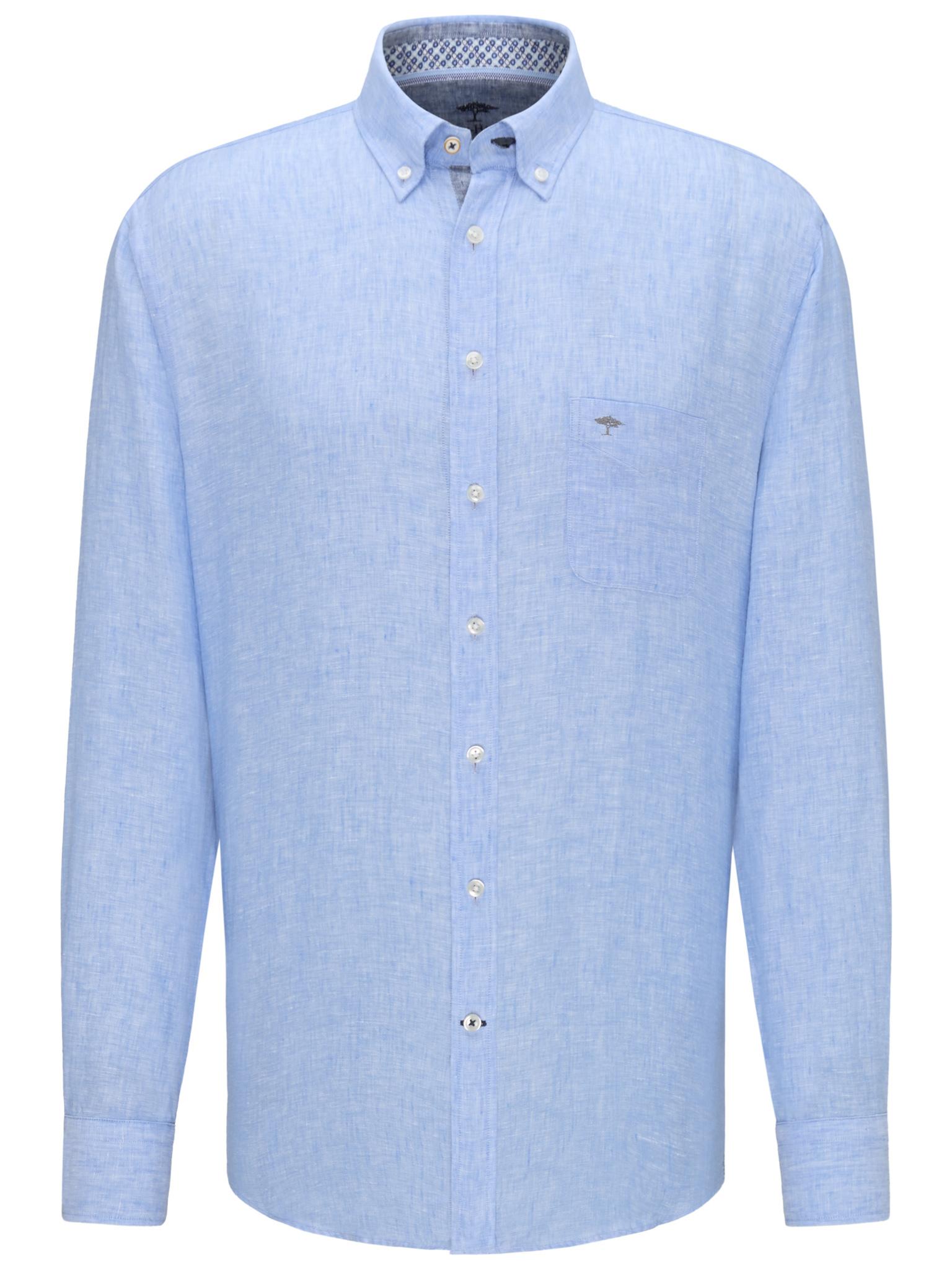 Fynch Hatton light blue linen shirt