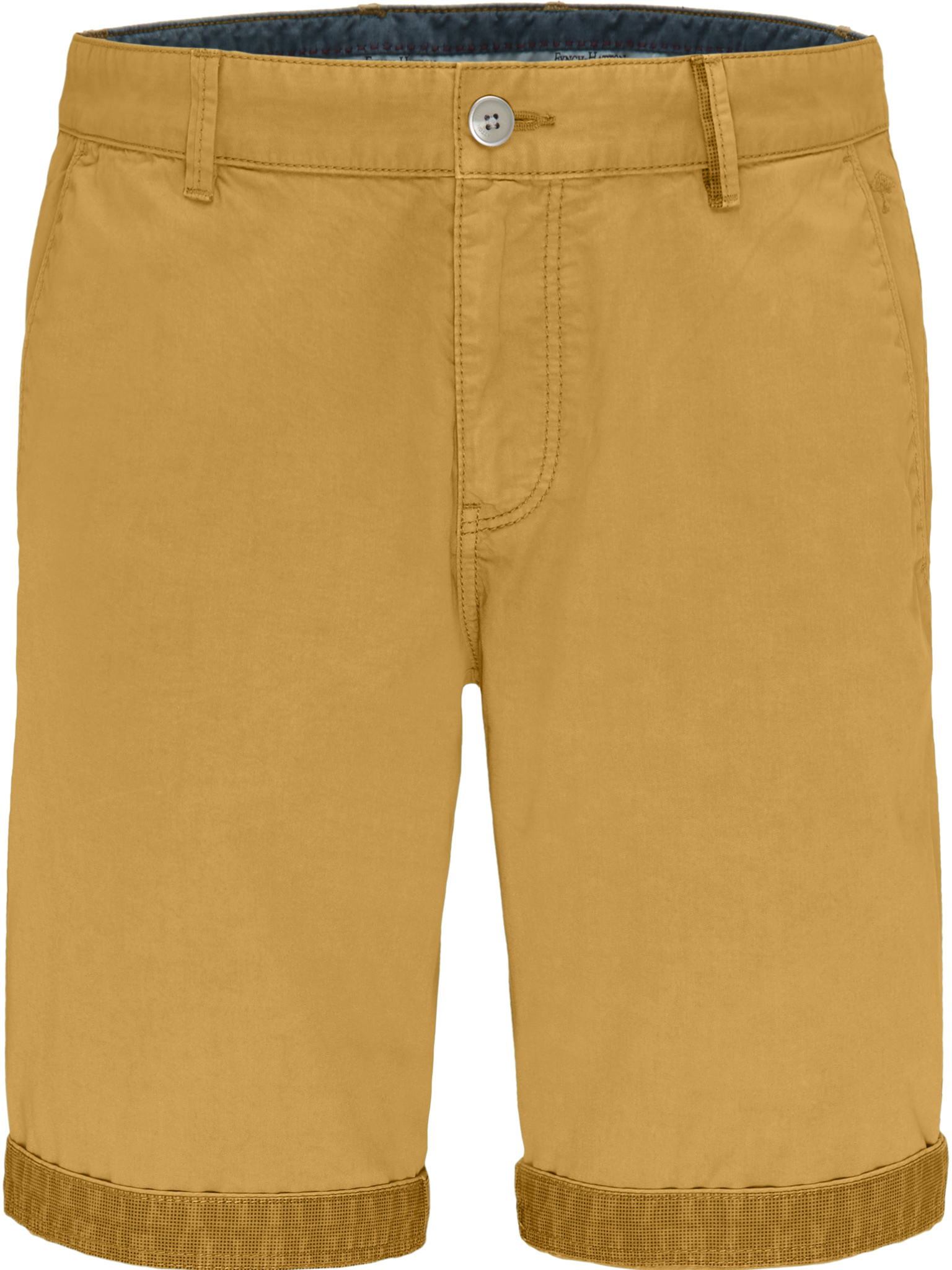 Fynch Hatton semi-taylored smart shorts in yellow