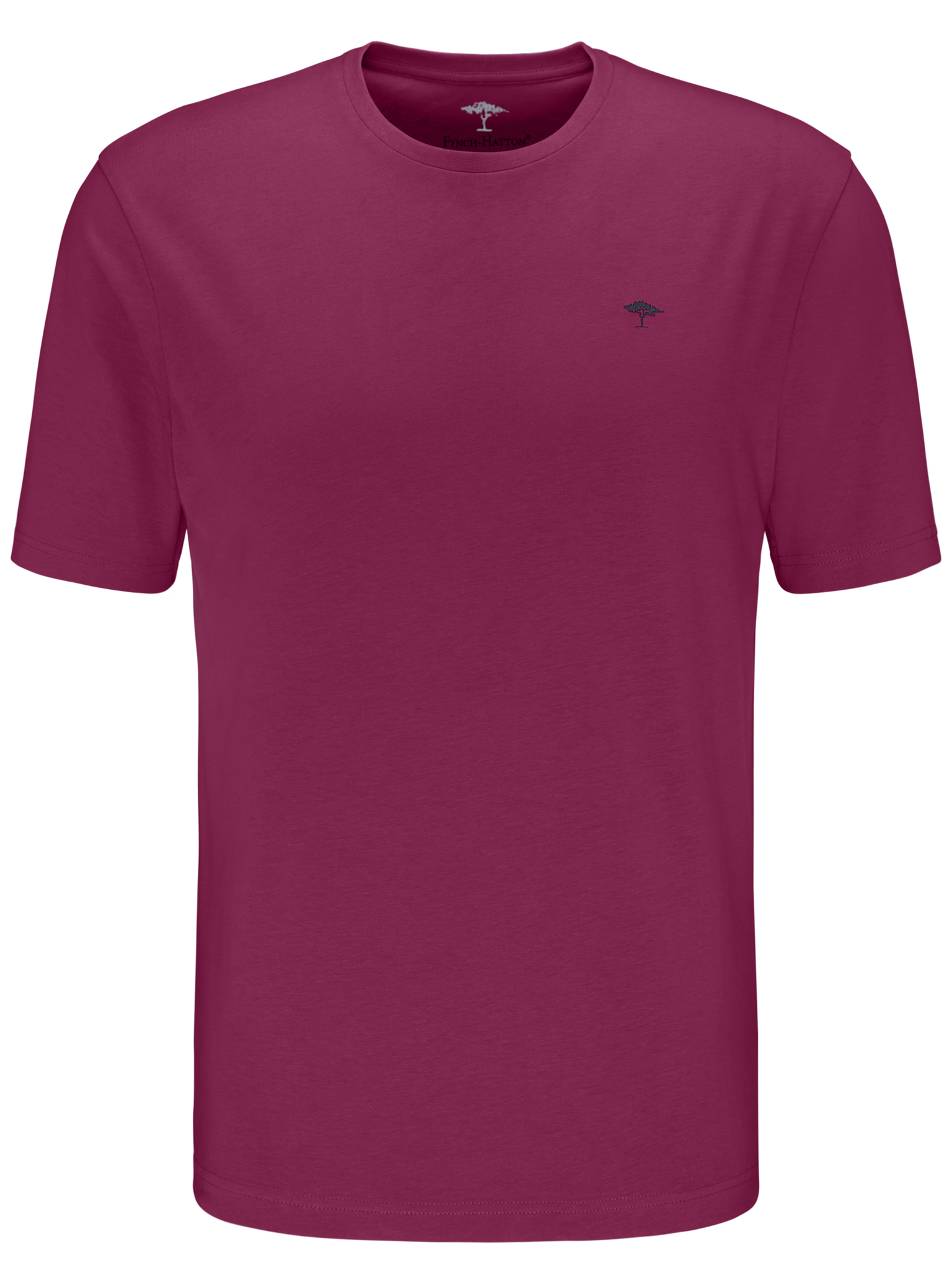 Fynch Hatton cotton tee shirt in purple