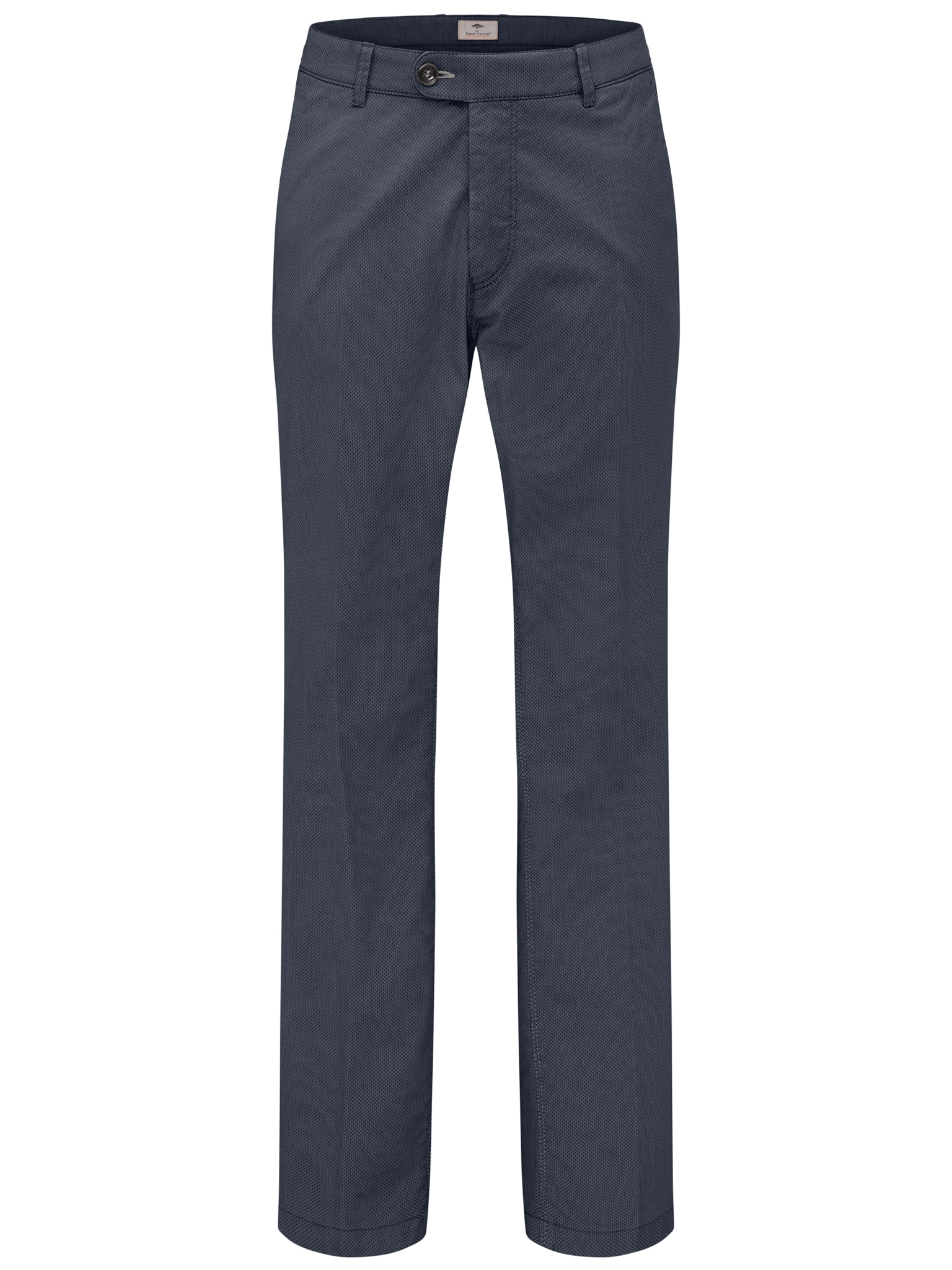 Fynch Hatton flat front navy trousers