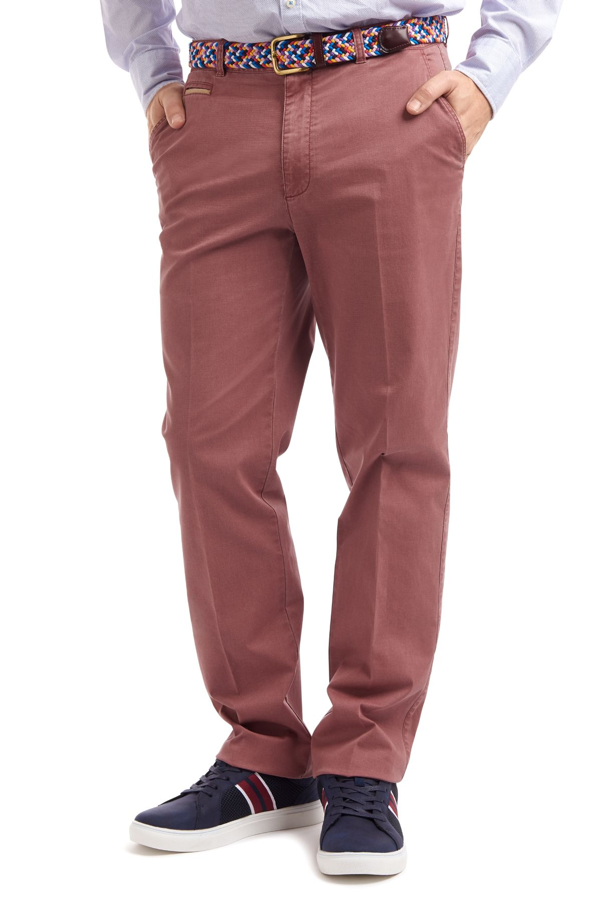 Gurteen Tidworth trousers in coral