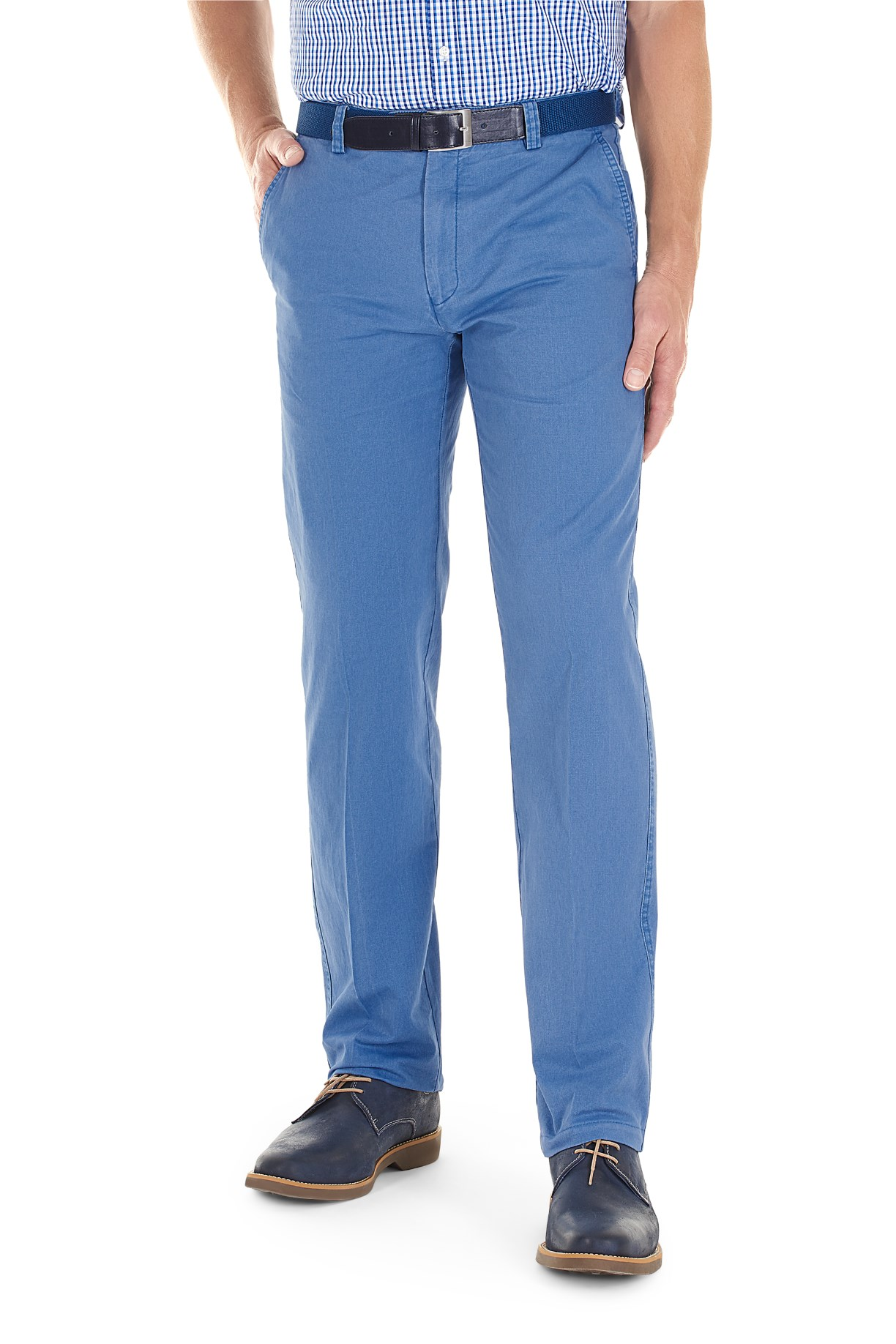 Gurteen Longford trousers in light blue