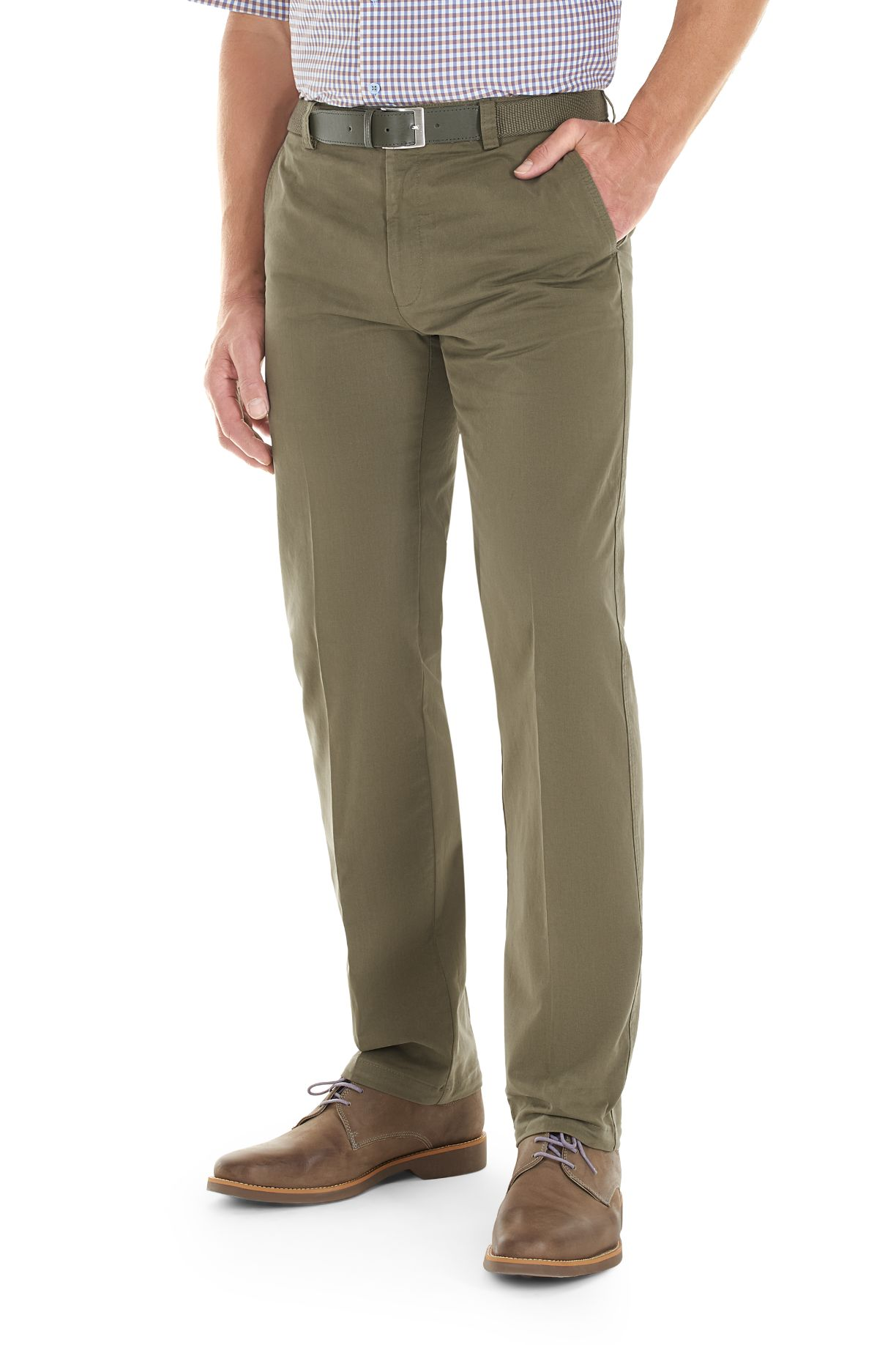 Gurteen Longford trousers in acorn