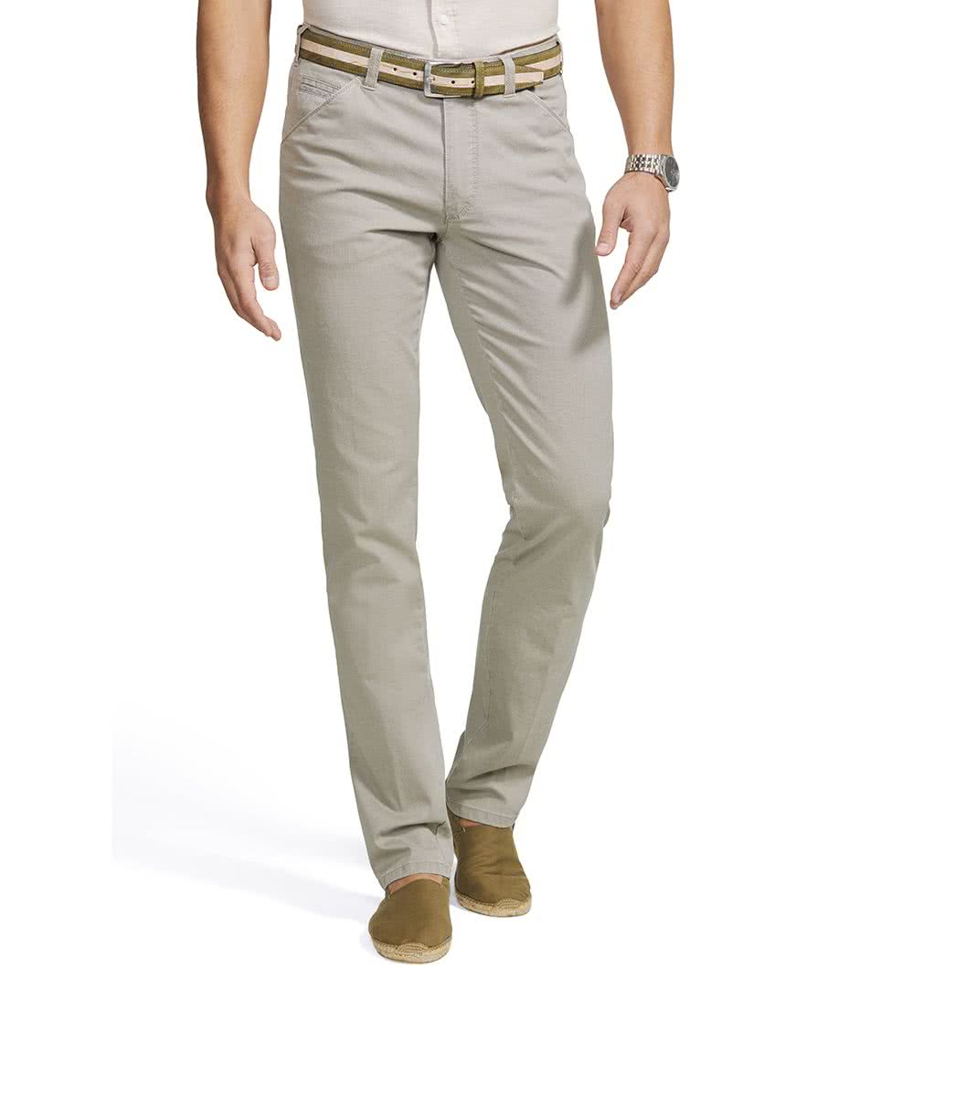 Meyer Canvas beige trousers