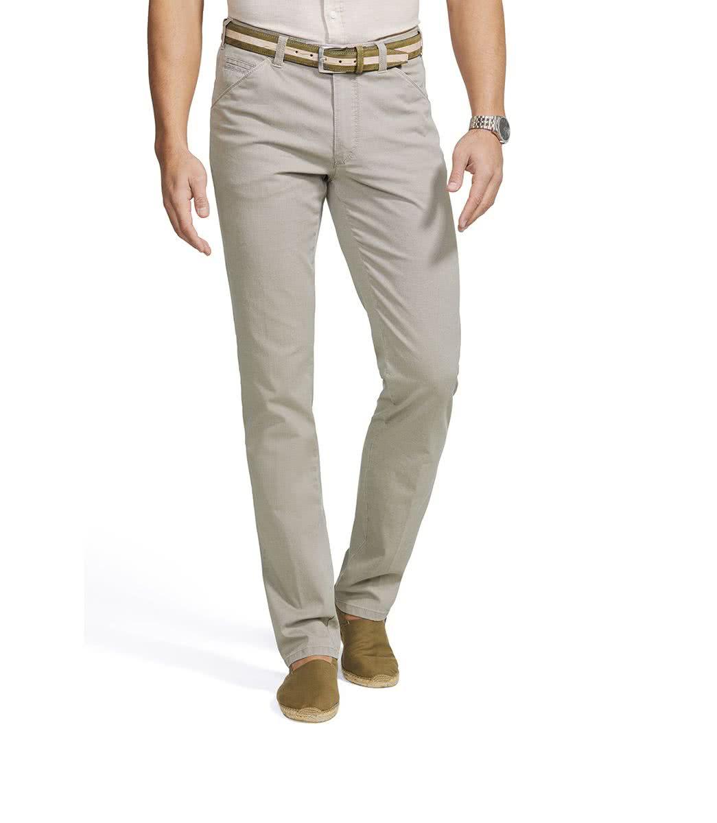 Meyer Canvas beige trousers