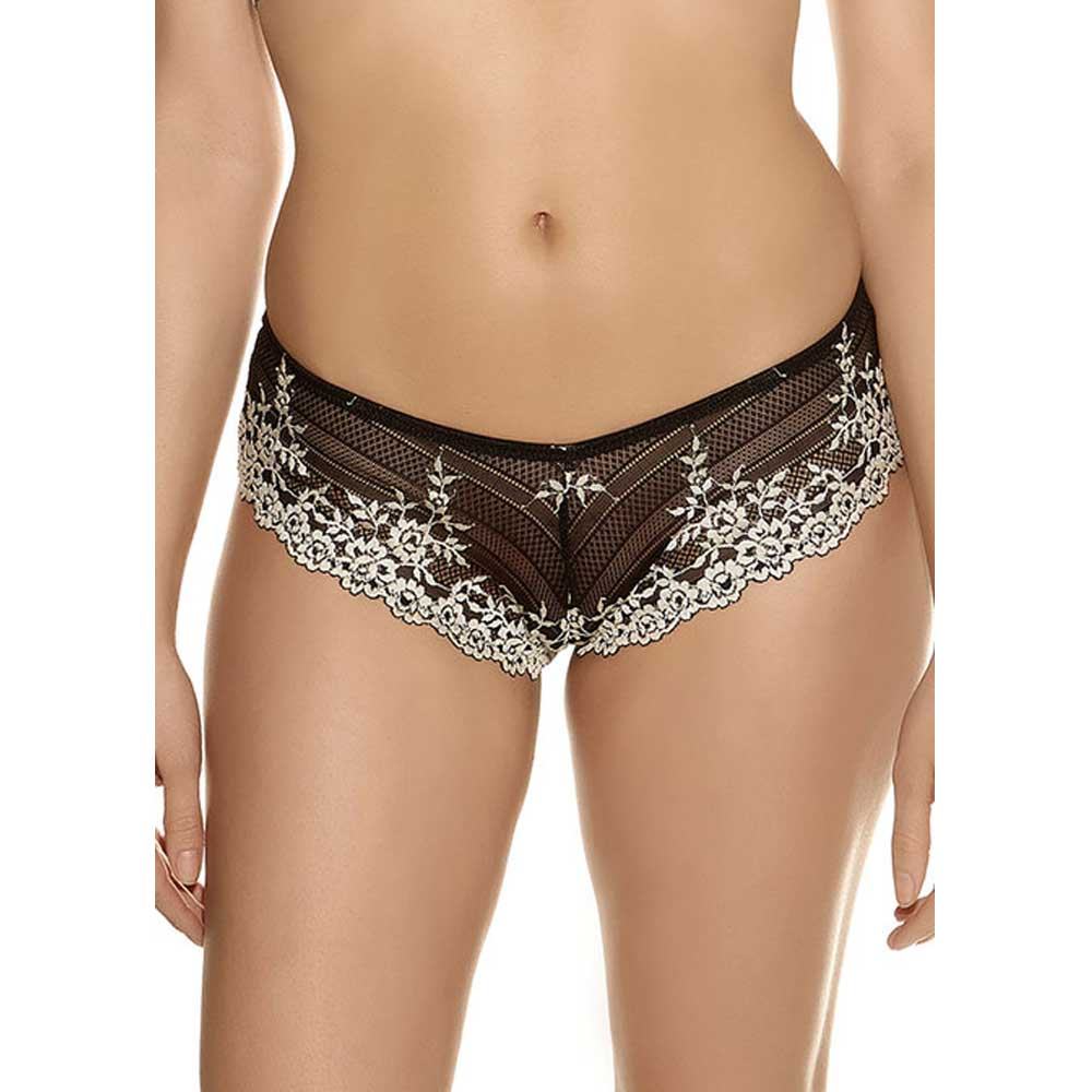 Wacoal Embrace Lace Tanga Brief in Black