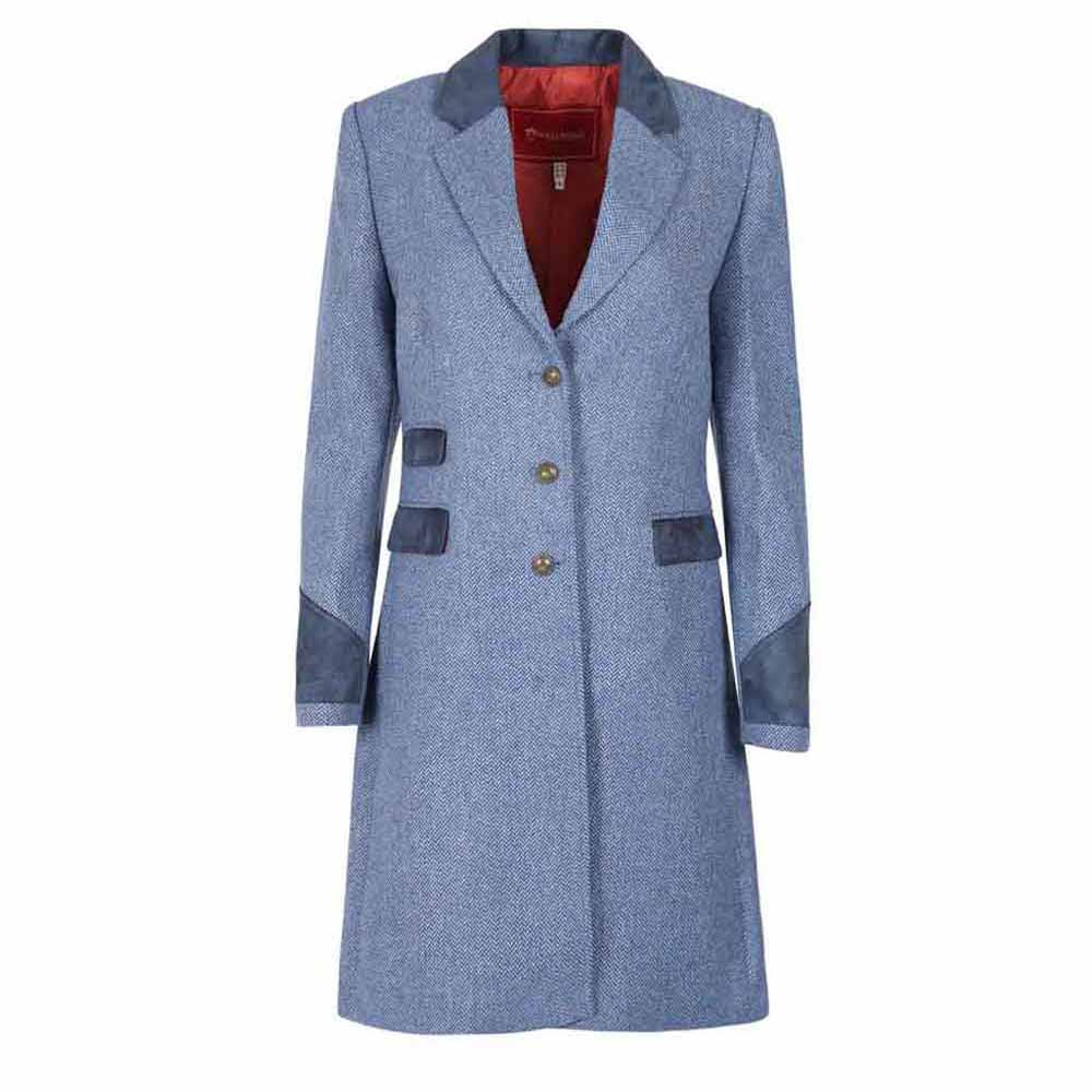 Welligogs Demelza Pale Blue Tweed Jacket