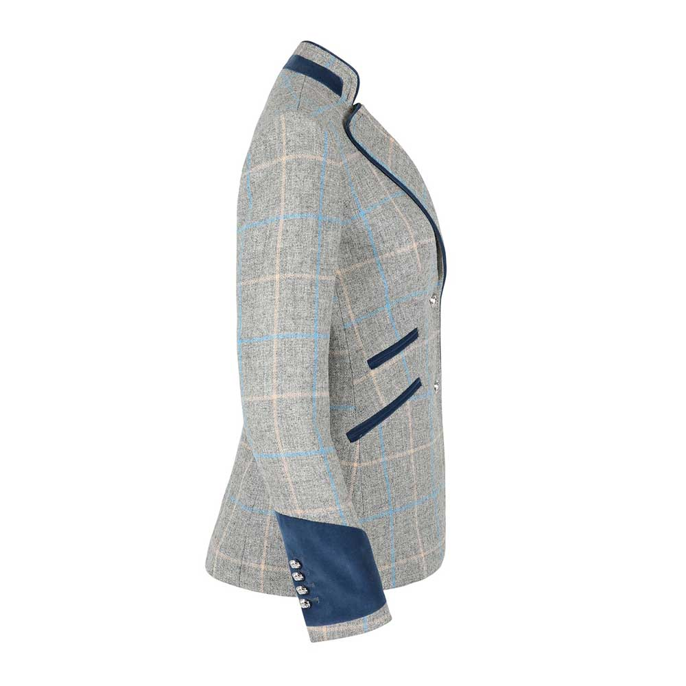 Welligogs Ascot Blue Tweed Jacket