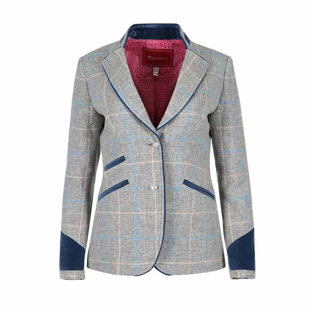 Welligogs Ascot Blue Tweed Jacket
