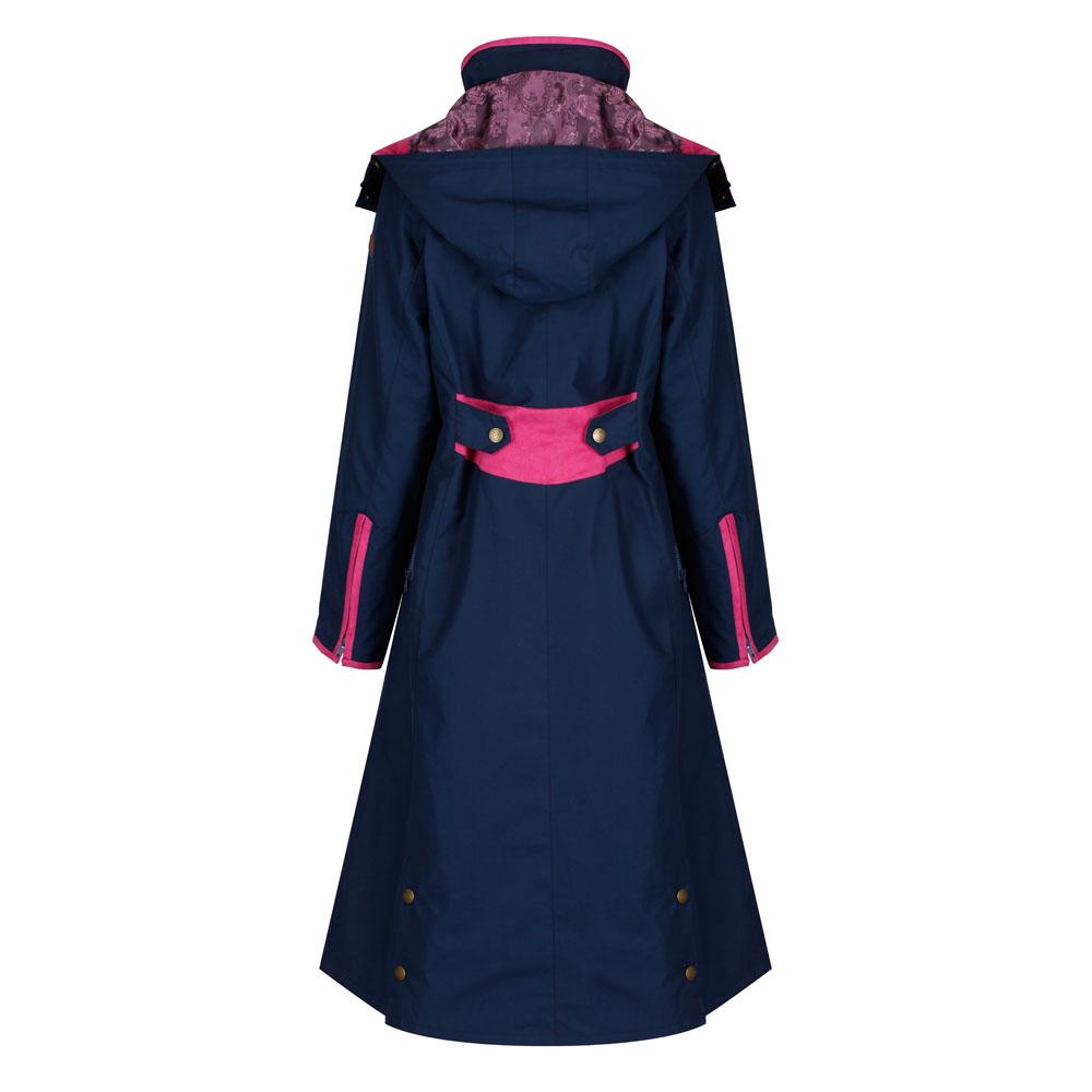 Welligogs Eleanor Navy and Pink Jacket