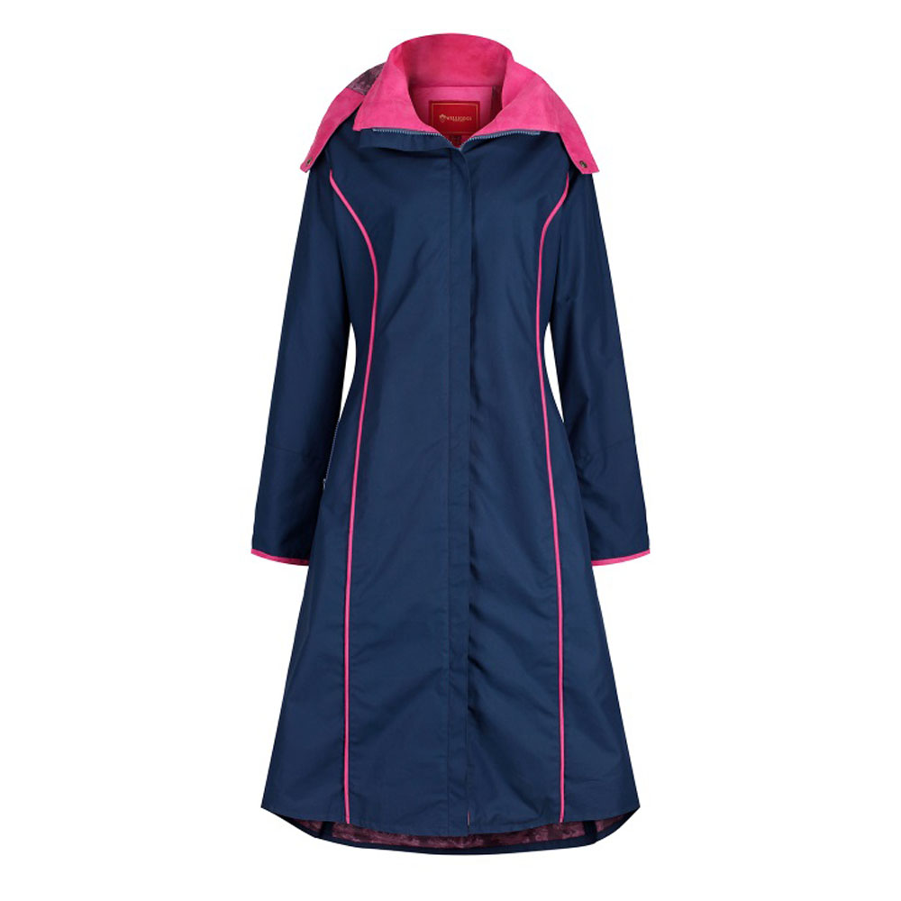 Welligogs Eleanor Navy and Pink Jacket