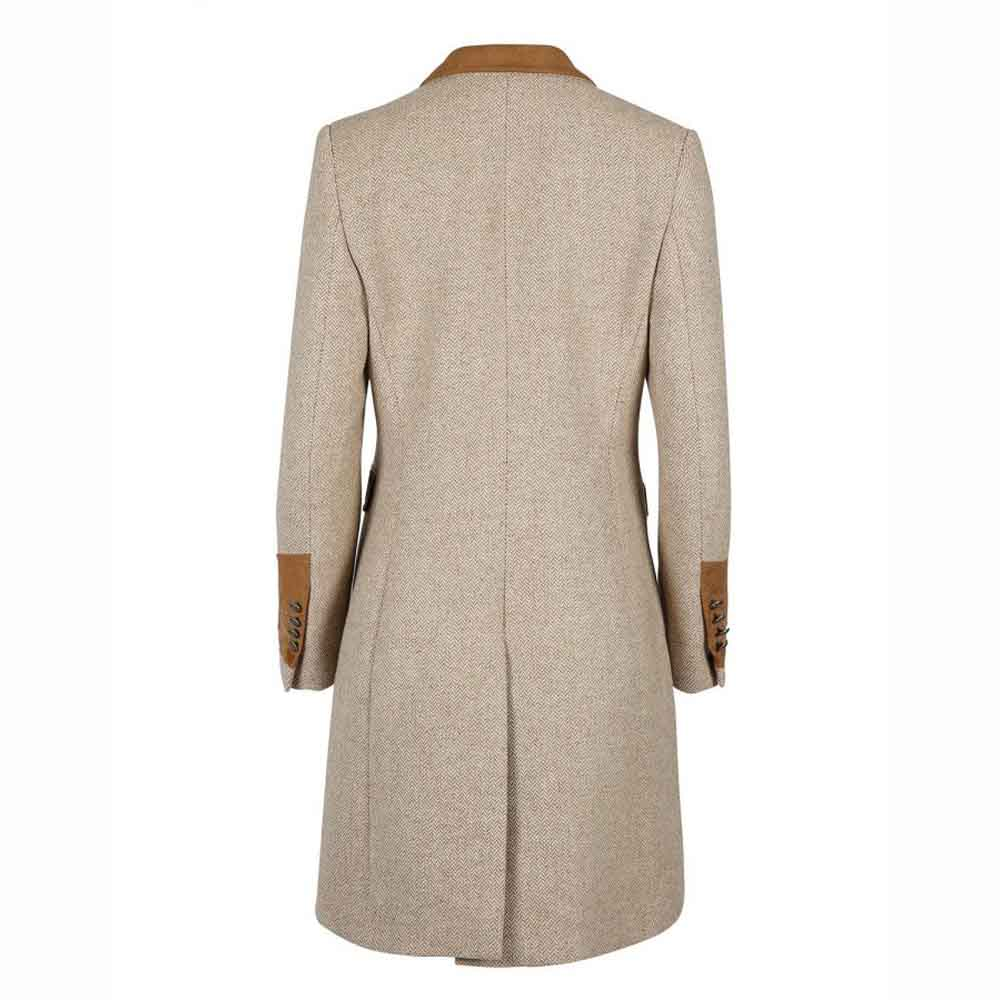 Welligogs Demelza Hazelnut Tweed Jacket