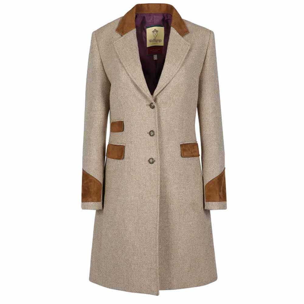 Welligogs Demelza Hazelnut Tweed Jacket