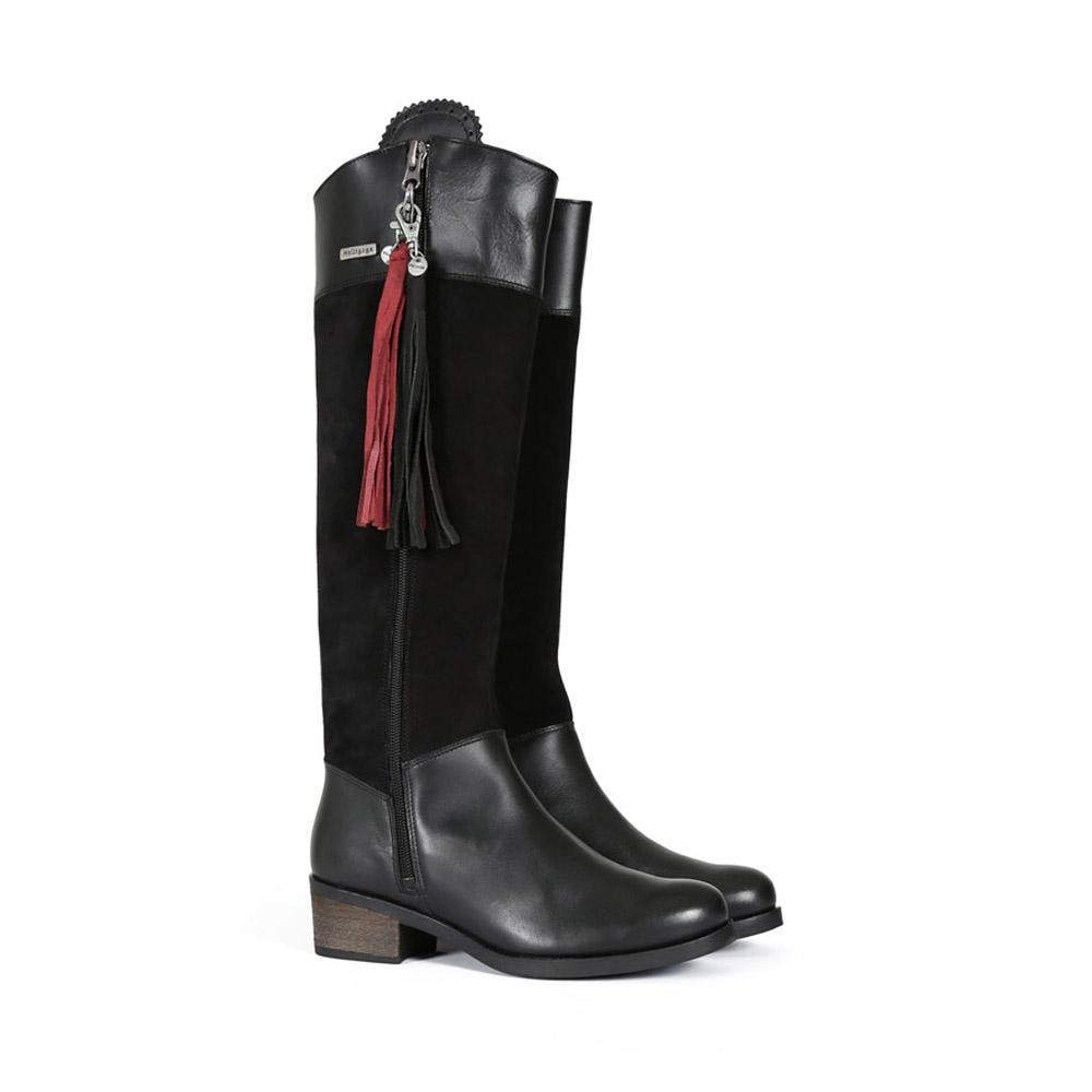 Welligogs Mayfair Black Waterproof Boots