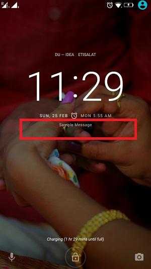 set-lock-screen-message-3