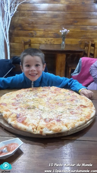 Chimborazo - pizza du soir