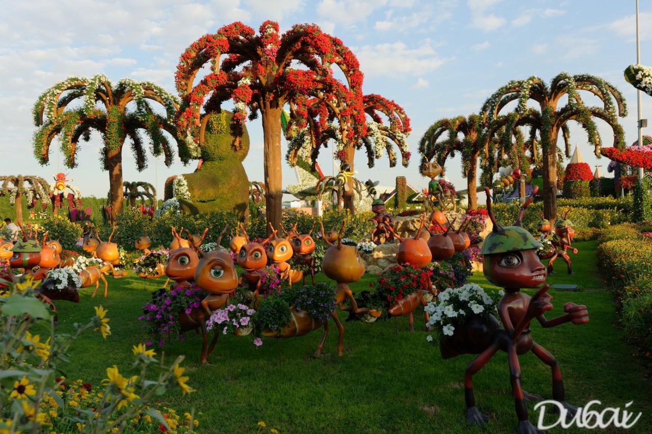 Dubai Miracle Garden - Du6ai at its Best