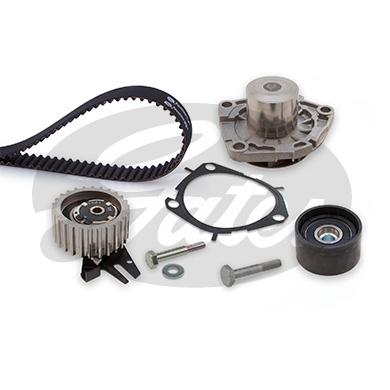 Gates-Correa-Dentada-Cam-Kit-de-bomba-de-agua-para-Opel-Insignia-2-0-Diesel-2008 miniatura 2