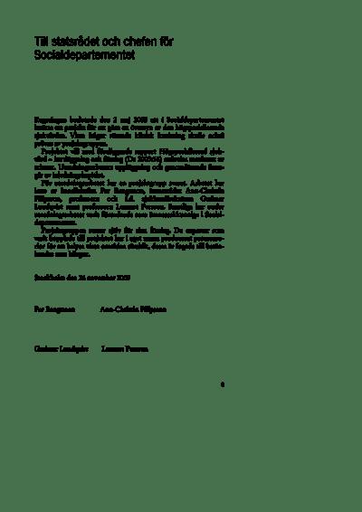Omslaget till Ds 2003:56