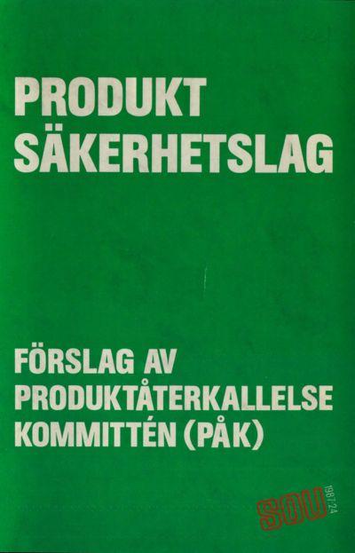 Omslaget till SOU 1987:24