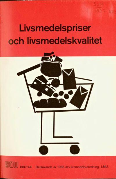 Omslaget till SOU 1987:44