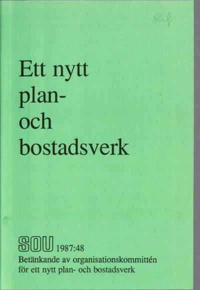 Omslaget till SOU 1987:48