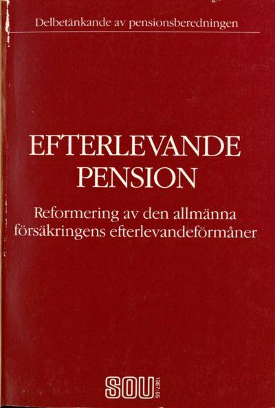 Omslaget till SOU 1987:55