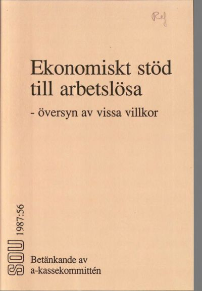 Omslaget till SOU 1987:56