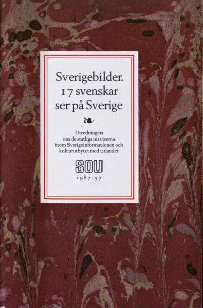 Omslaget till SOU 1987:57
