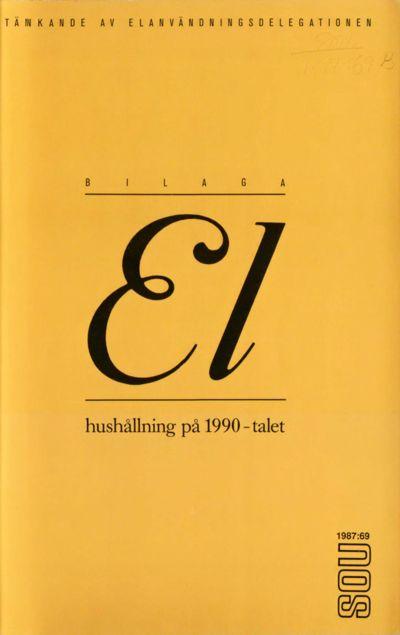 Omslaget till SOU 1987:69