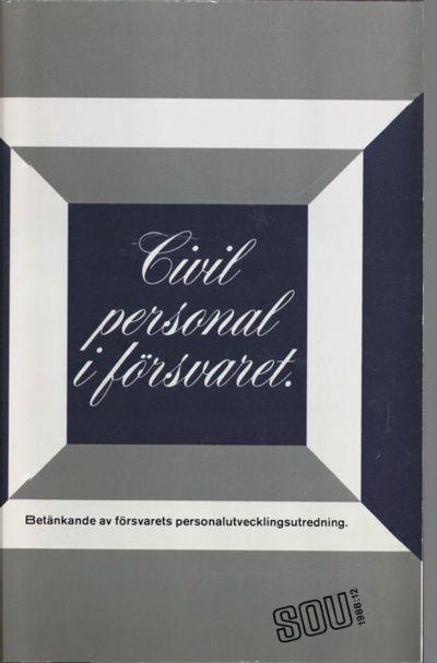 Omslaget till SOU 1988:12