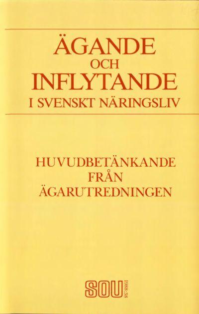 Omslaget till SOU 1988:38
