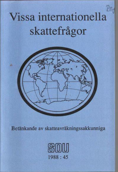Omslaget till SOU 1988:45