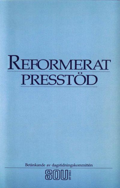 Omslaget till SOU 1988:48