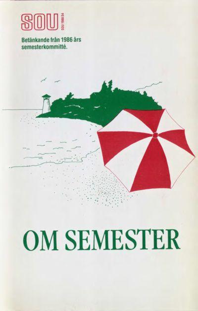 Omslaget till SOU 1988:54