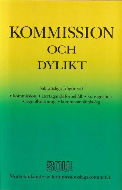 Omslaget till SOU 1988:63
