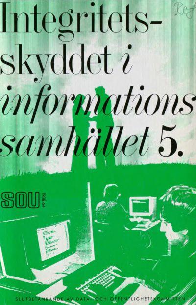 Omslaget till SOU 1988:64