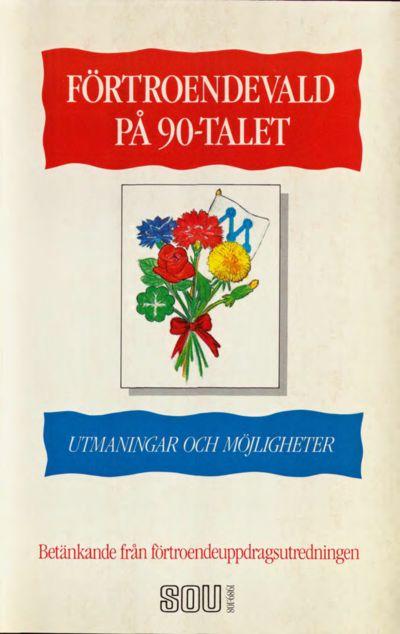 Omslaget till SOU 1989:108