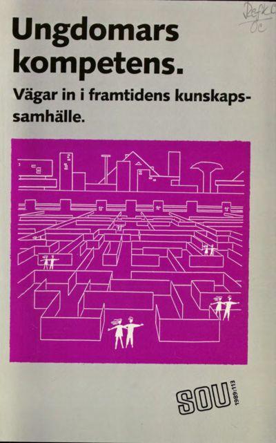 Omslaget till SOU 1989:113