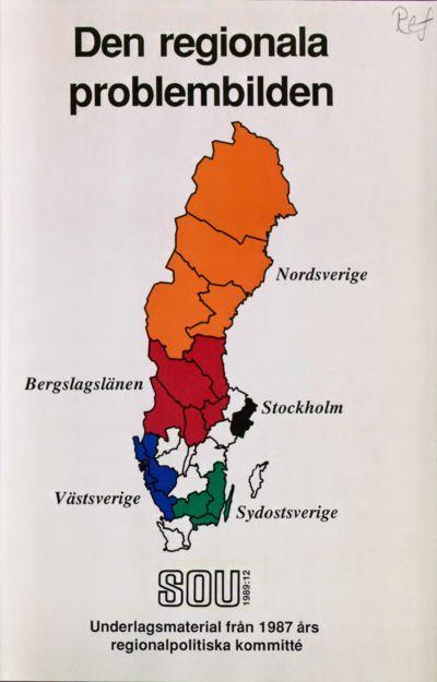 Omslaget till SOU 1989:12