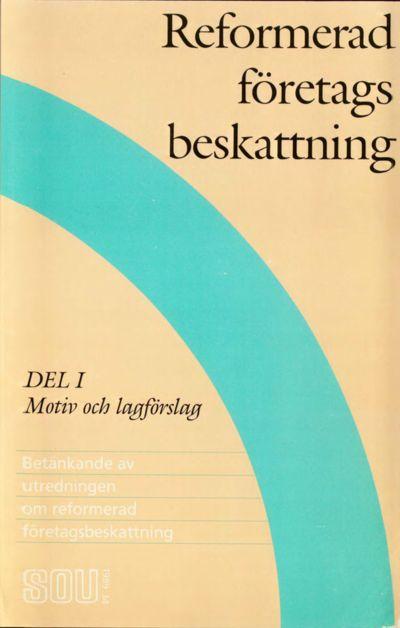 Omslaget till SOU 1989:34