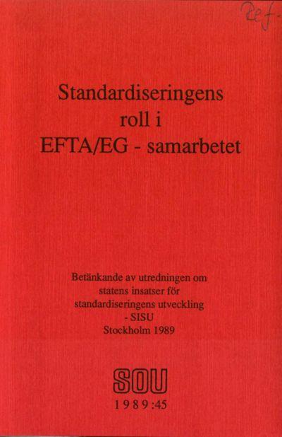 Omslaget till SOU 1989:45