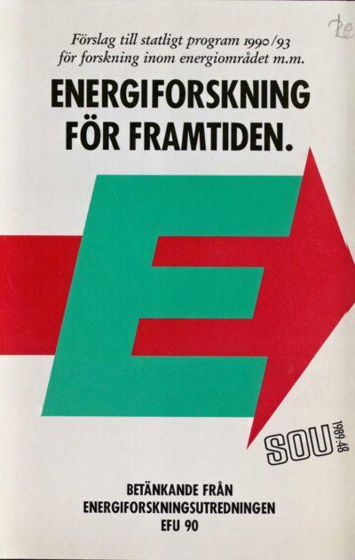 Omslaget till SOU 1989:48
