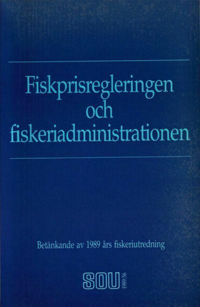 Omslaget till SOU 1989:56