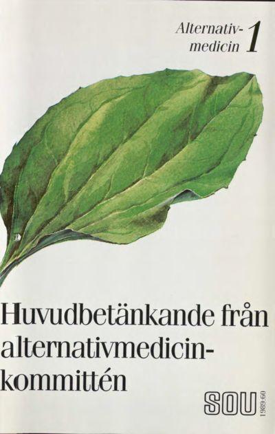 Omslaget till SOU 1989:60