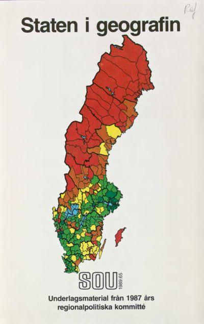Omslaget till SOU 1989:65