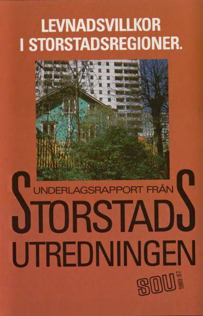 Omslaget till SOU 1989:67